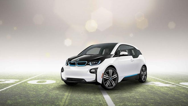 BMW will air a 60-second commercial for the all-electric BMW i3 during the Super Bowl on Feb. 1.