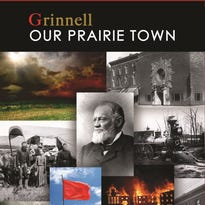 """Cover for """"Grinnell: Our Prairie Town"""""""