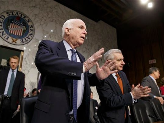 John McCain, Jack Reed