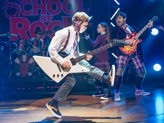 """School of Rock,"" the movie, really revolved around"
