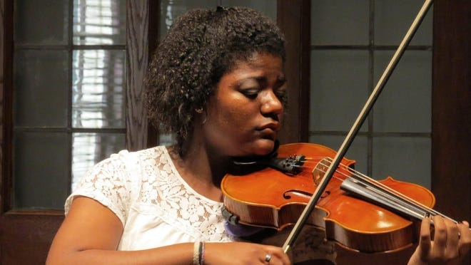 Violist Kayla Williams studied under music director Valerie Arsenault for six years and is now attending Lynn University's Conservatory of Music.