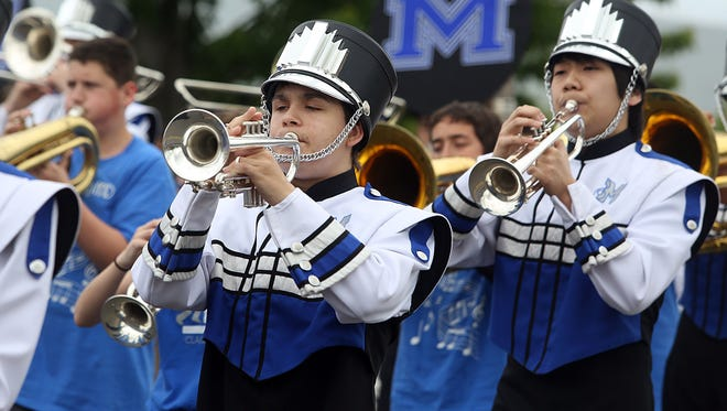Hear marching bands during Keizer Iris Festival Parade 10:30 a.m. to 1 p.m. May 16. The parade will start at corner of Lockhaven and River Road and proceed south to Glynbrook. To get the best seat, go early. You may also want to bring an umbrella just in case.