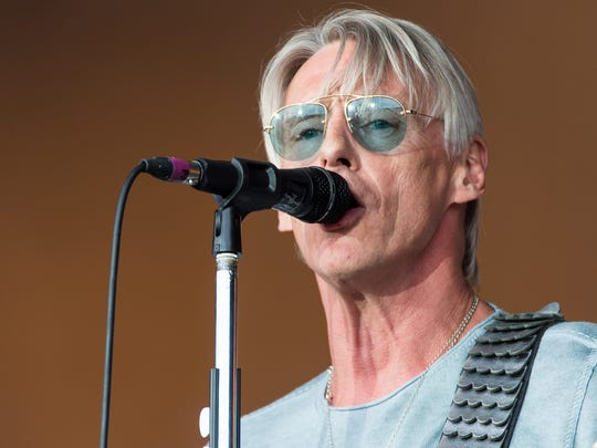 Paul Weller performs at the Glastonbury Festival on
