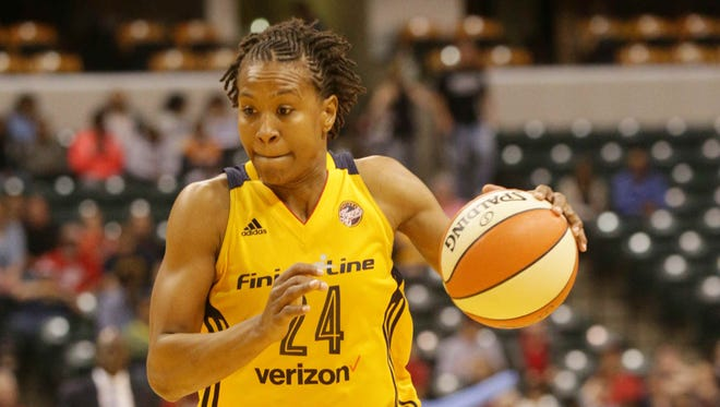 Tamika Catchings scored 18 points in the Indiana Fever's 78-72 win over Atlanta on Friday night.
