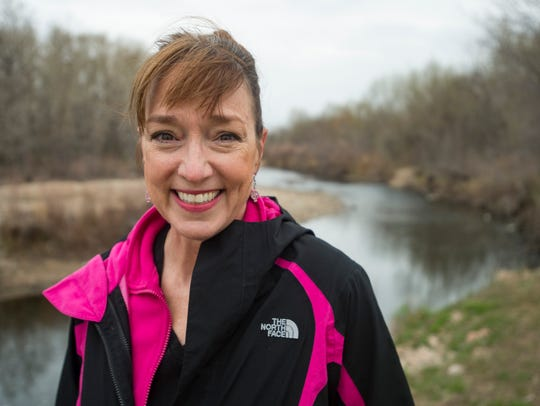 Coloradoan columnist Katy Piotrowski poses for a portrait