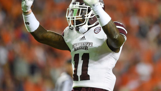 Mississippi State senior Kivon Coman returned to practice for the first time since injuring his ankle a month ago.