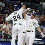 Ex-Bulldog Renfroe gets 7 RBIs for Padres