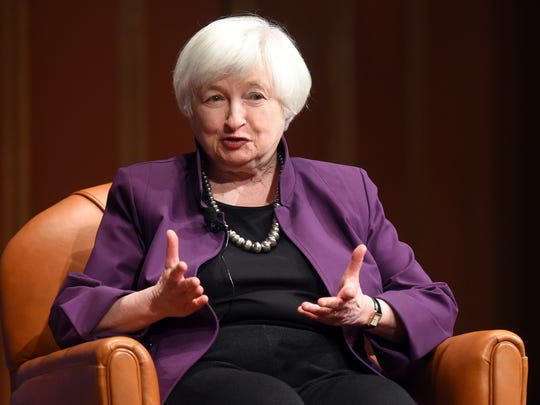 Federal Reserve Chair Janet Yellen spoke about the