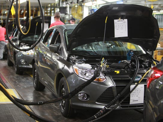 Ford Motor Company opens its facility to celebrate