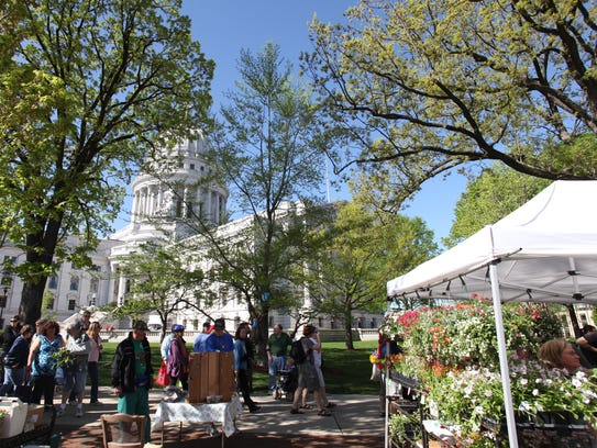 Established in 1972, the Dane County Farmers' Market