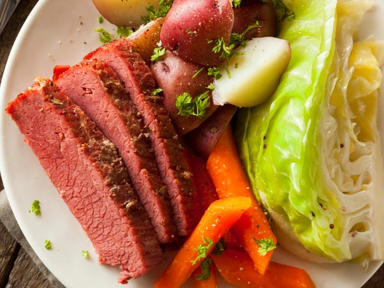 Homemade corned beef and cabbage is perfect for celebrating