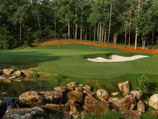 The 17th Hole of Shoal Creek Golf Club in the Shoal