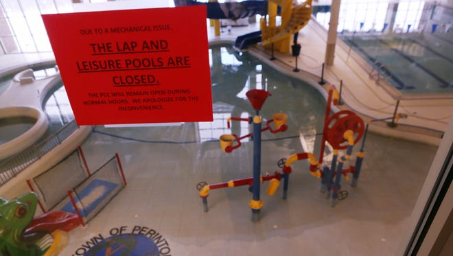The Town of Perinton Recreation Center's pool has been closed since a large water leak was found.