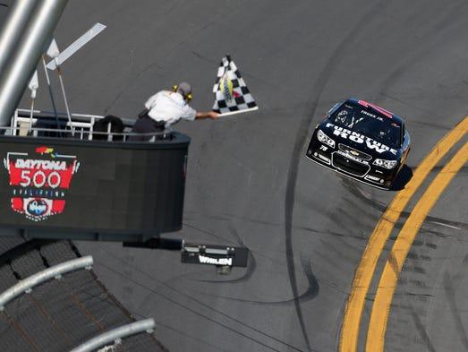 Austin Dillon Richard Childress Take No 3 To Top At Daytona