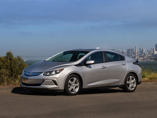 Chevrolet Volt – Going on sale this fall, the second generation of Chevrolet's revolutionary car has an EPA rating of 53 miles on a charge.