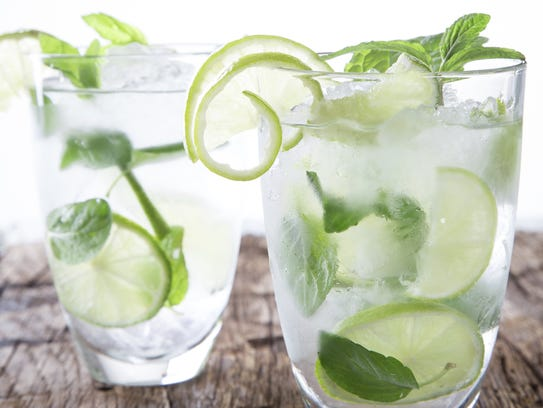 15. Add mint to your drink | There's a reason mint