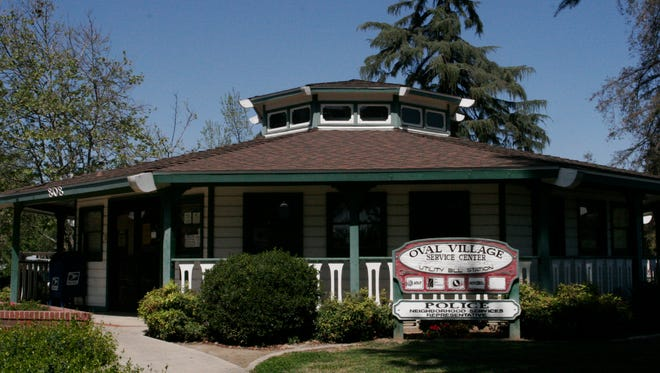 The Oval Village Service Center at the Lincoln Oval Park in Visalia.