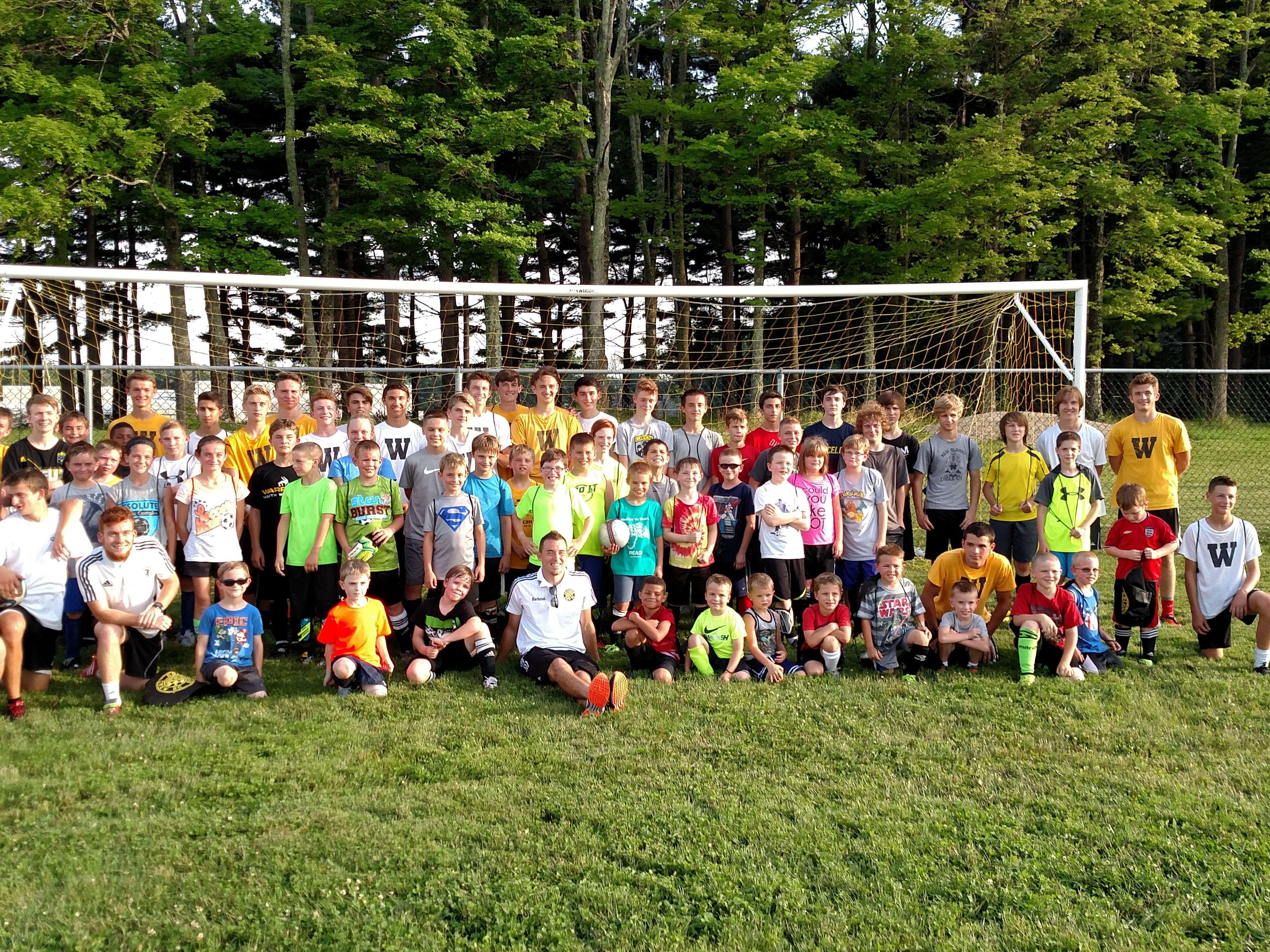 The Watkins Memorial boys soccer program hosted its annual youth camp June 22-24 to kick off its summer.