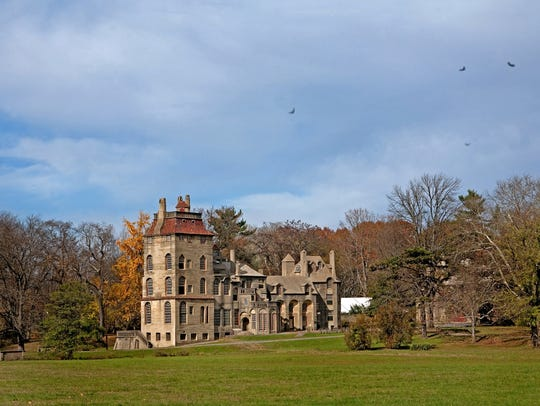 Fonthill Castle is located in Doylestown.
