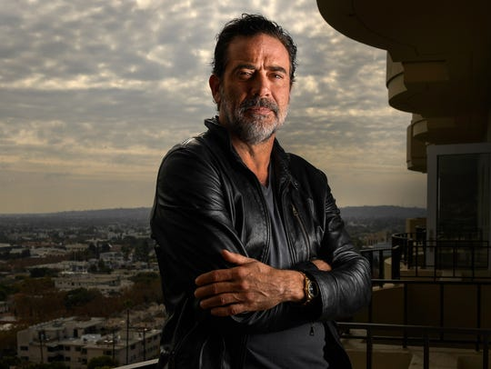 Jeffrey Dean Morgan, who portrays a bat-wielding bully