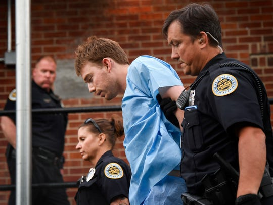 Travis Reinking, the suspect in a deadly shooting at