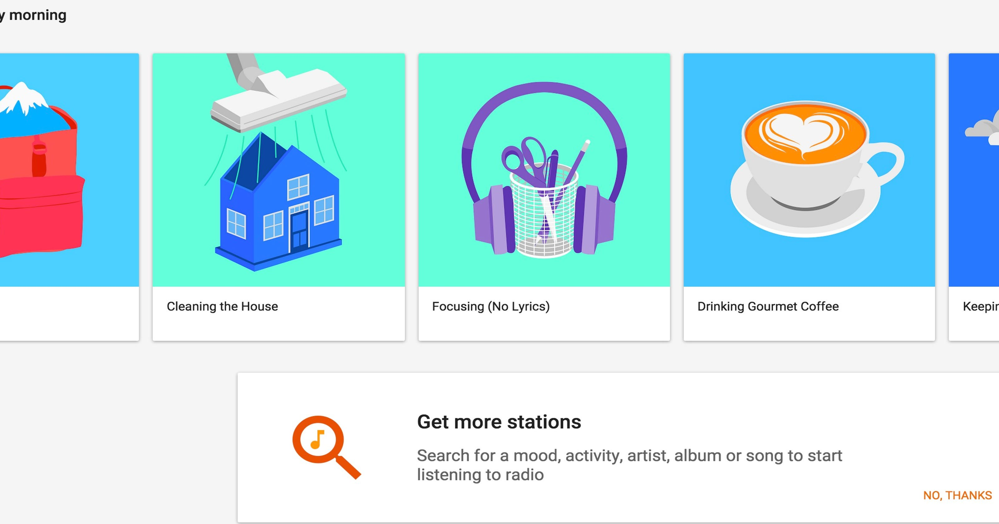 First Look - Google Play Music has 1000s of free music playlists