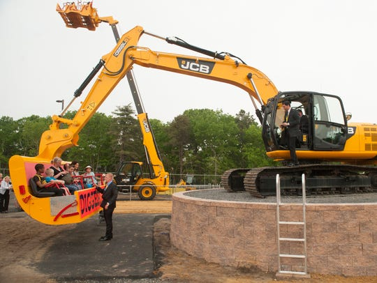 Diggerland USA, the United States' first construction-themed