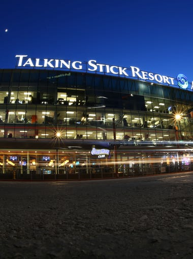 Talking Stick Resort Arena, home of the Phoenix Suns on Dec. 13 in Phoenix. ARENA ICON