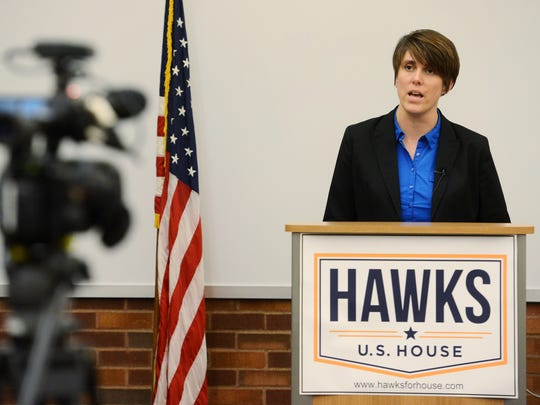 Paula Hawks speaks about funding for Indian Health