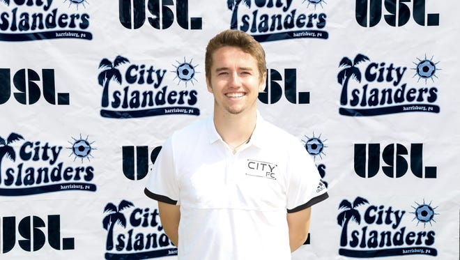 Dallastown grad Shane Campbell signed with the Harrisburg City Islanders in March.