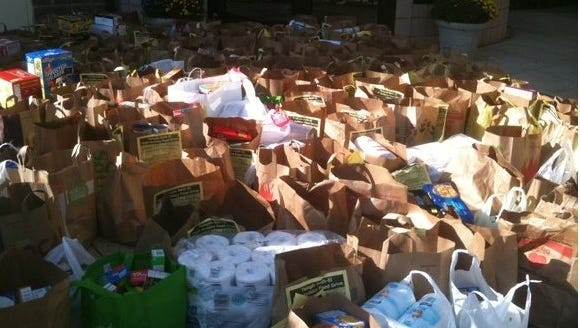 Temple Beth-El of Hillsborough donates over 5000 pounds of food to the Food Bank of Somerset County each year.
