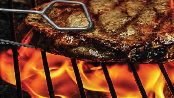 A clip from the new steak menu at Beef 'O' Brady's in Sioux Falls, the only restaurant in the chain to feature steak.