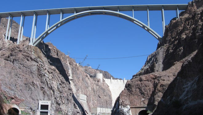 The Hoover Dam Post Card Tour is a 45-minute tour by Black Canyon River Adventures offering stunning views of the dam and bridge.