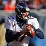 Denver Broncos quarterback Brock Osweiler.