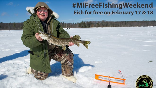 Michigan offers outstanding winter fishing. Consider experiencing it yourself during the 2018 Winter Free Fishing Weekend on Feb. 17 and 18.