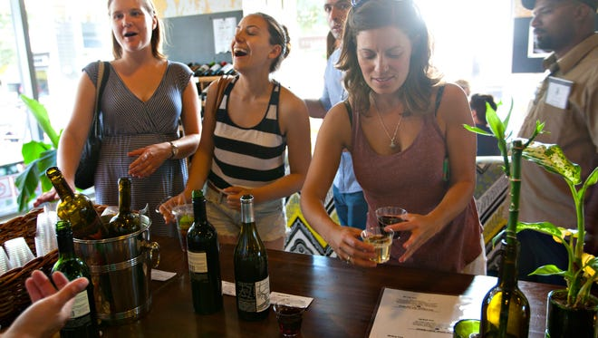 The Urban Wine Walk returns on Saturday, May 16 at locations throughout downtown Phoenix.