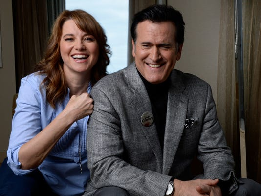Ash vs Evil Dead Lucy Lawless Bruce Lawler