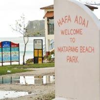 Matapang Beach Park photographed on May 28, 2015.