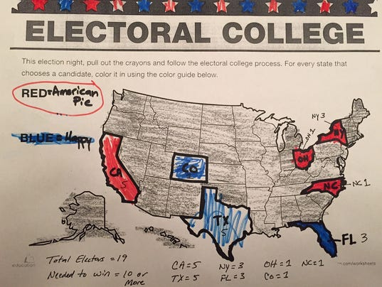 the electoral college not a fair The only tie in electoral college history was in 1800, a totally bizarre situation, in the days before formal tickets, and back in the days when several states still did not even hold a popular.