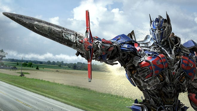 """Optimus Prime is back in """"Transformers: Age of Extinction."""""""