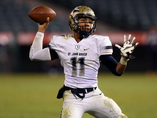 Iowa State quarterback commit Re-Al Mitchell was dynamic