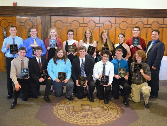A group of top students from Horseheads High School