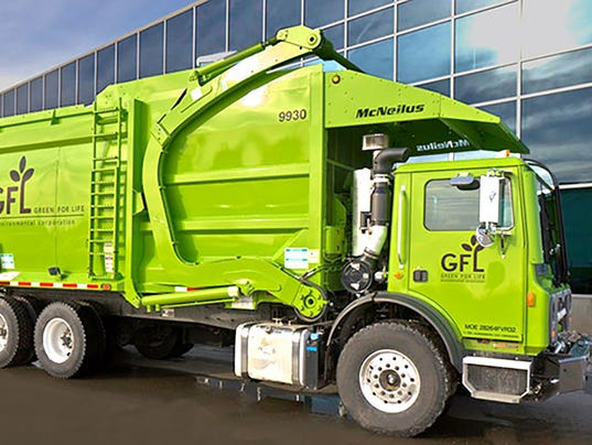 Big Green Garbage Trucks Push Rizzo To The Curb New