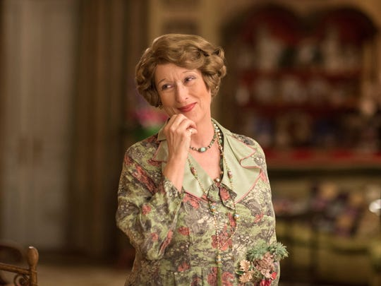 "Meryl Streep was nominated for a best-actress Oscar for the title role in ""Florence Foster Jenkins."""