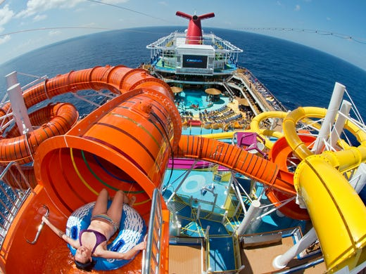 Cruise Ship Attractions That Will Blow Your Mind