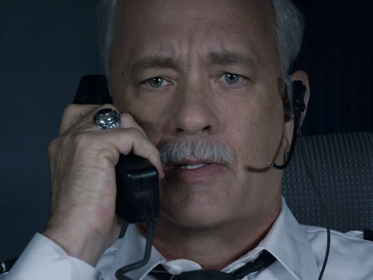 """Tom Hanks played real-life pilot hero Chesley """"Sully"""""""
