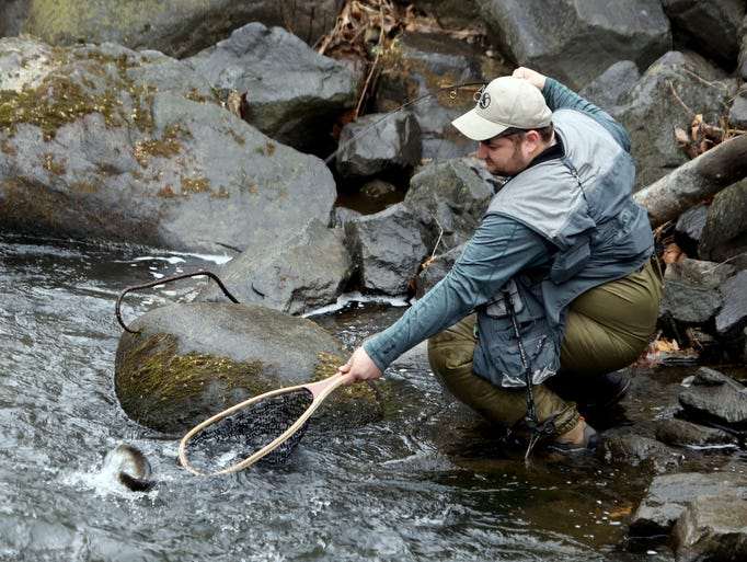 Anglers enjoy opening day of trout fishing season for Trout fishing season