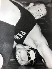 Edward A. Scharer was among the best wrestlers in Rutgers