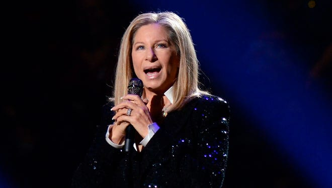 Barbra Streisand, here performing in October 2012,  has backed Clinton. She's set to perform at an LGBT fundraiser for Clinton in New York on Sept. 9, according to Buzzfeed.