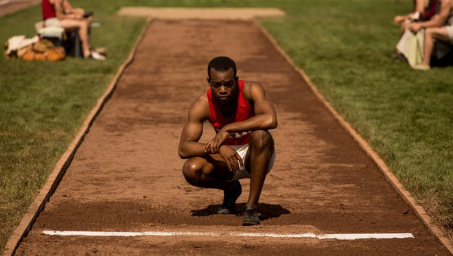 Stephan James as Jesse Owens in Focus' 'Race,' one of the diversity bright spots.